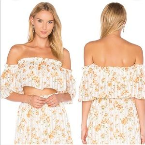 Privacy Please REVOLVE Parsons Floral Top Small